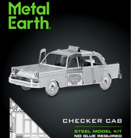 Fascinations Fascinations Metal Earth Checker Cab Steel Model Kit