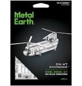 Fascinations Fascinations Metal Earth CH-47 Chinook Helicopter Steel Model Kit