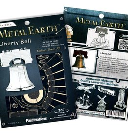 Fascinations Fascinations Metal Earth Liberty Bell Steel Model Kit