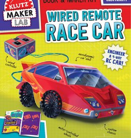 Klutz Klutz Wired Remote Control Race Car Kit