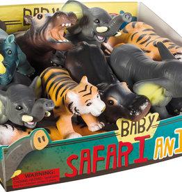 Toysmith Toysmith Soft Baby Safari Animals-Hippo