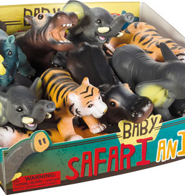Toysmith Toysmith Soft Baby Safari Animals-Rhino