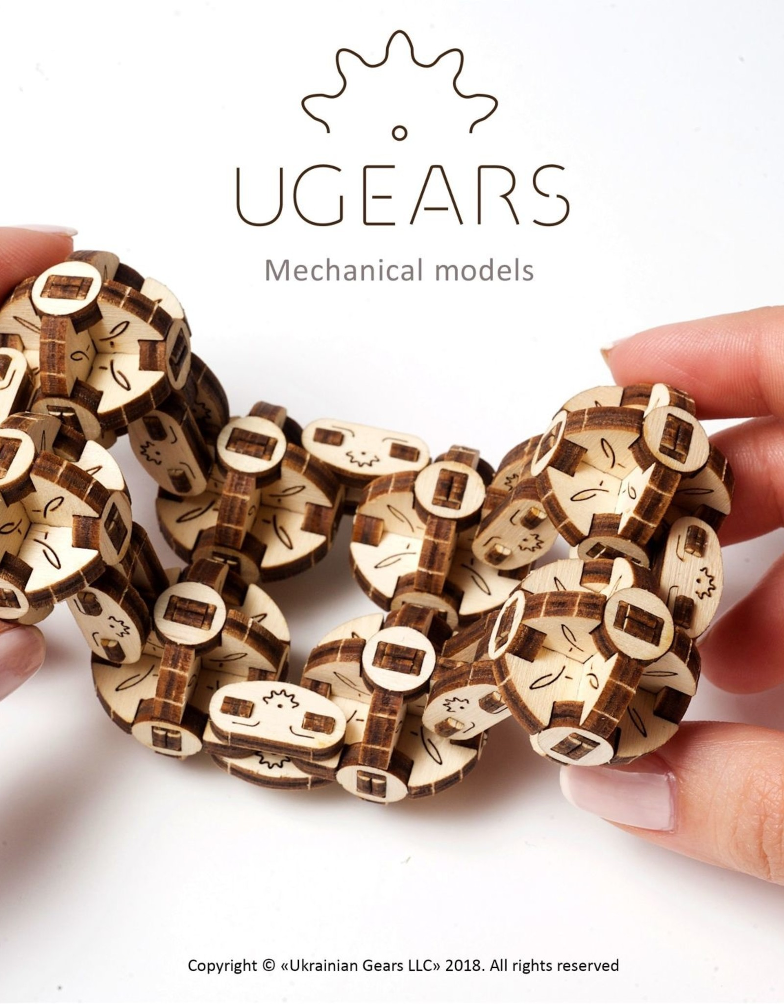 HQ Kites & Designs USA HQ Kites & Designs UGears Wooden Flexi-Cubus Model