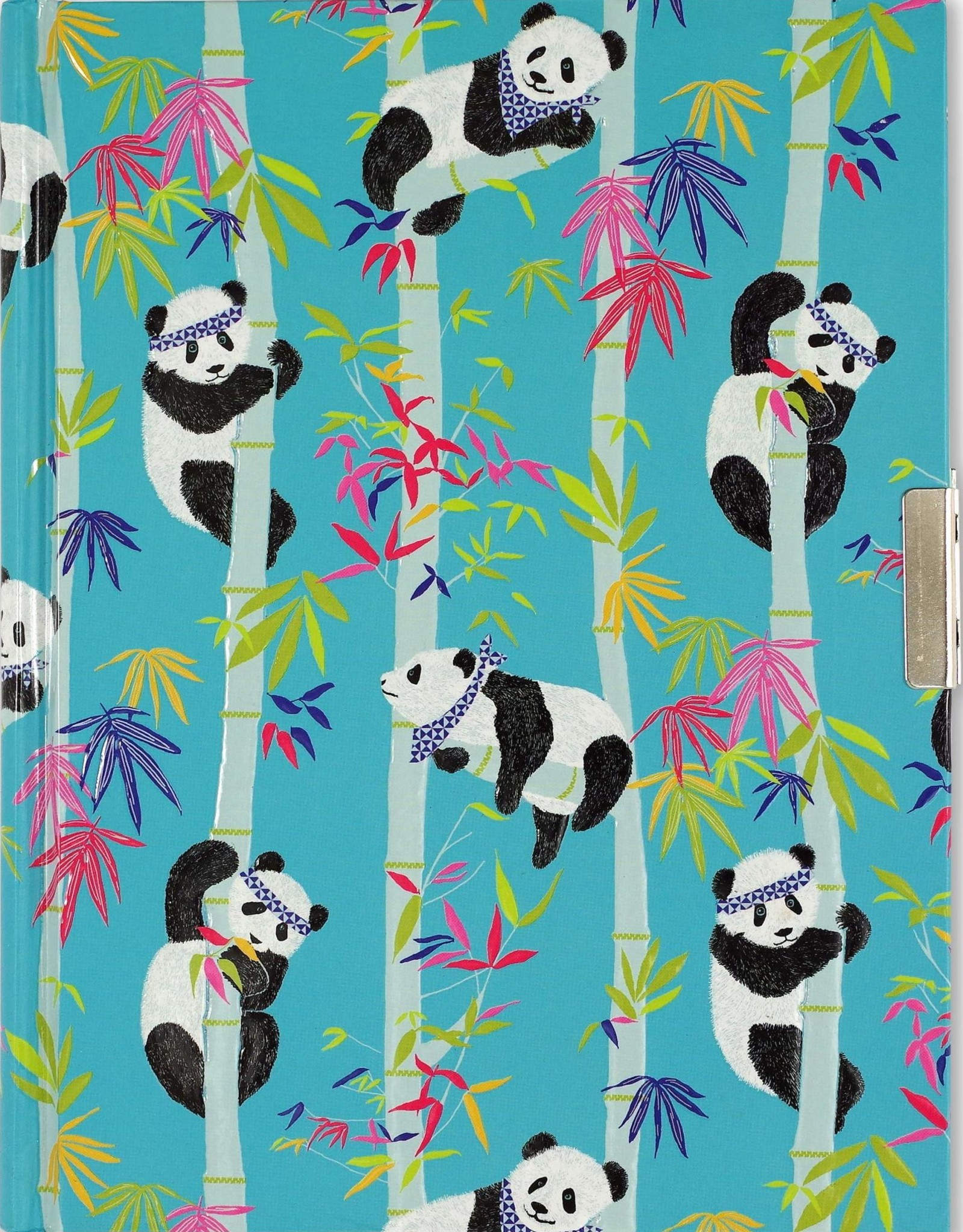 Peter Pauper Press, Inc. Peter Pauper Pandas Locking Journal