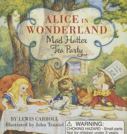 Running Press Mini Alice in Wonderland Mad Hatter Tea Party Kit