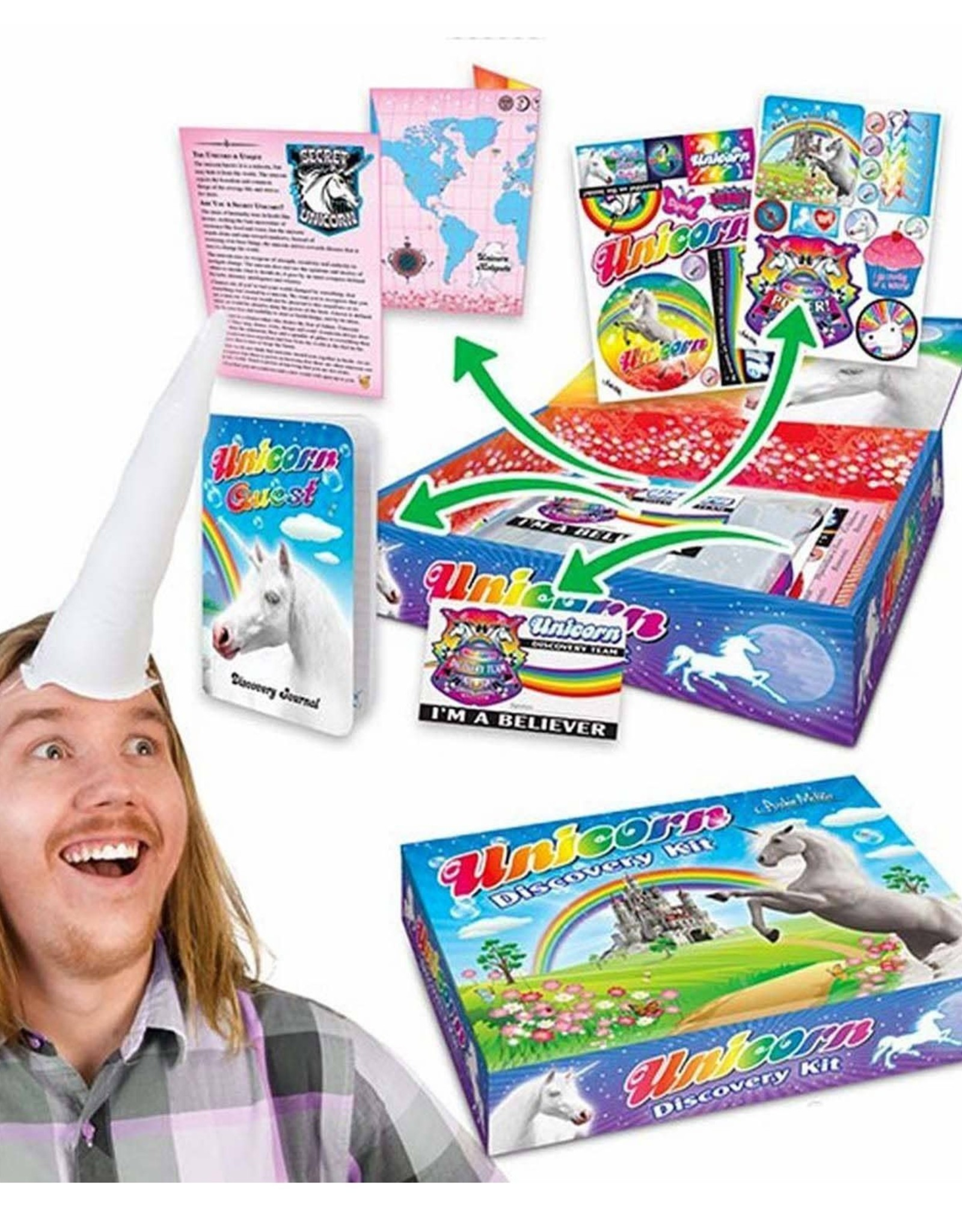 Archie McPhee Wholesale Accoutrements Unicorn Discovery Kit