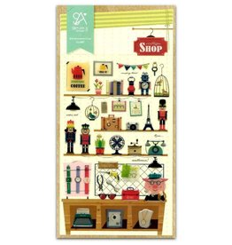 BC USA Erasers BC Erasers Vintage Shop Sonia Stickers 2007