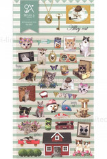 Suaterier BC Erasers Alley Cat Sonia Stickers 2017