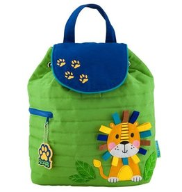Stephen Joseph Stephen Joseph Quilted Backpack -Lion
