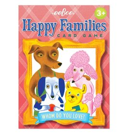 Eeboo Eeboo Happy Families Playing Card Game
