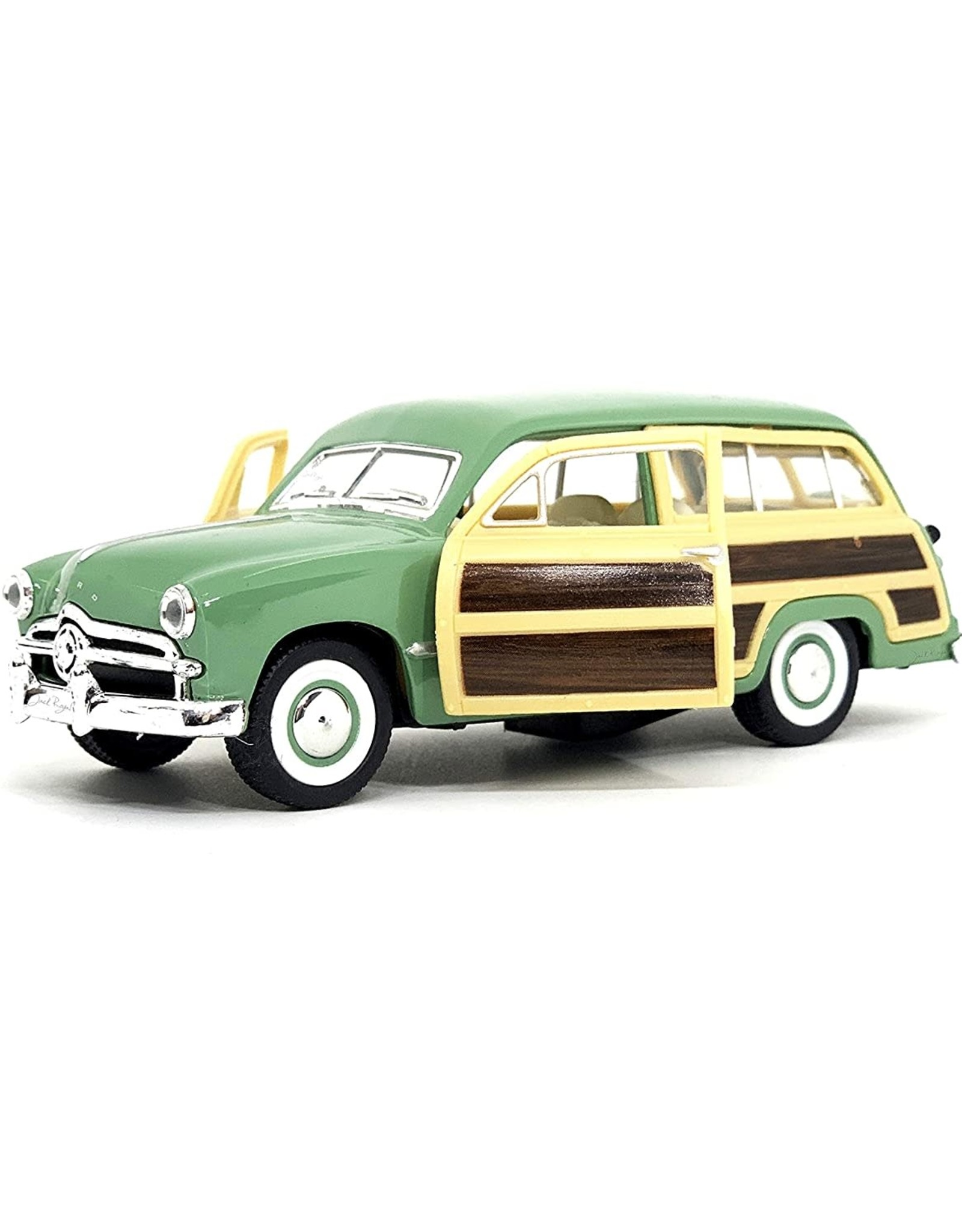 Castle Toys Die Cast 1949 Ford Woody Wagon Kt5402d Green The Dragon S Nest Toy Store
