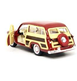 Kinsmart Kinsmart Die-Cast 1949 Ford Woody Wagon KT5402D-RED