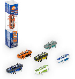 Innovation First Labs-Hexbugs Innovation First Nano Nitro Hexbug-Grey/Green
