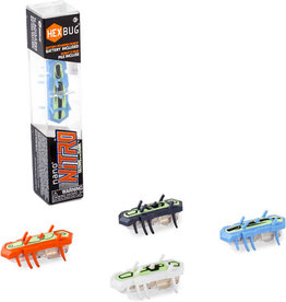 Innovation First Labs-Hexbugs Innovation First Nano Nitro Glow Hexbug-BLUE/GREEN