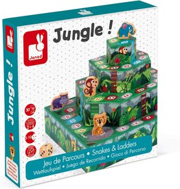 Janod Jura Toys Janod Racing Board Game-Jungle!