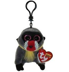 Ty Ty 36563 Beanie Boo Wasabi Baboon Clip