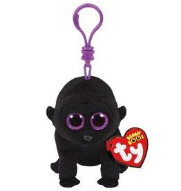 Ty Ty 35026 Beanie Boo George Black Gorilla Clip