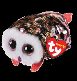 Ty Ty Teeny Tys Checks Sequined Owl 42408