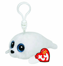 Ty TY 36624 Beanie Boo Icy White Seal Clip