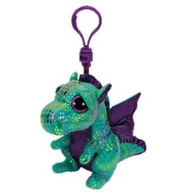 Ty Ty 36637 Cinder Green Dragon Clip