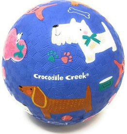 "Crocodile Creek Crocodile Creek 5"" Playground Ball/ Dogs"