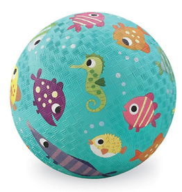 """Crocodile Creek Crocodile Creek 5"""" Playground Ball - Fish"""