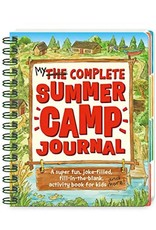 Peaceable Kingdom Press Peaceable Kingdom My Complete Summer Camp Journal