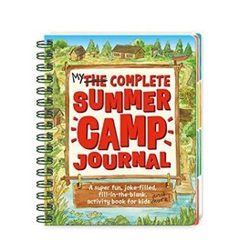 Peaceable Kingdom Press Peaceable Kingdom My Complete Summer Camp Journal