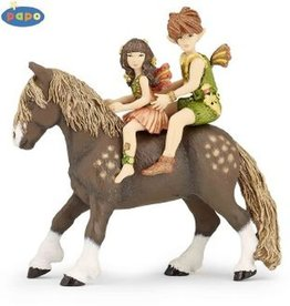 Hotaling Hotaling Papo Elves Children and Pony 39011