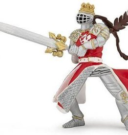 Hotaling Hotaling Papo Red Dragon King w/Sword 39797