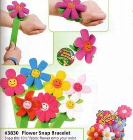 Toysmith Toysmith Flower Snap Bracelet Assortment