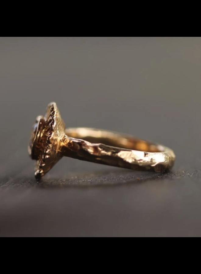 Summer Sun Diamond Ring (Size: 6)