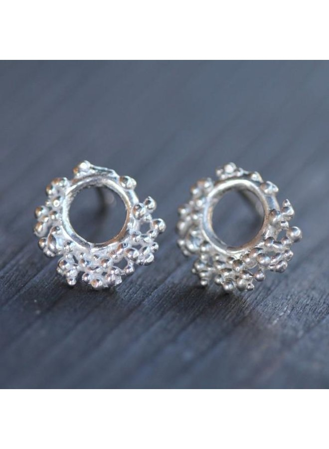 Russell Reef Studs Sterling Silver
