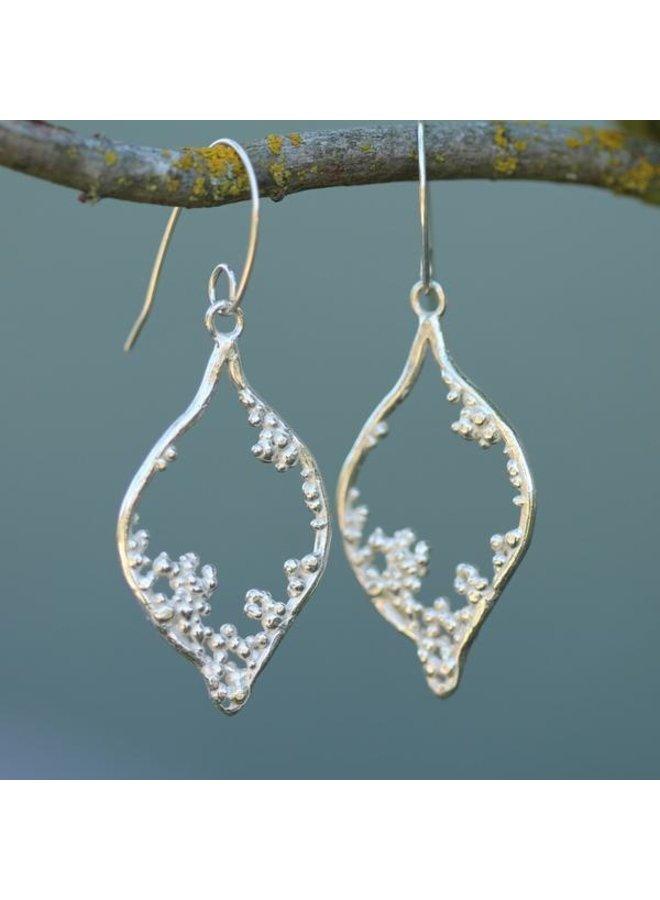 Bamfield Mermaid Earrings Sterling Silver