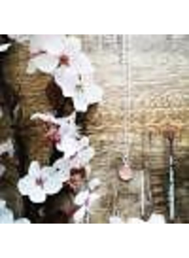 "Victoria Cherry  Blossem Necklace 18"""