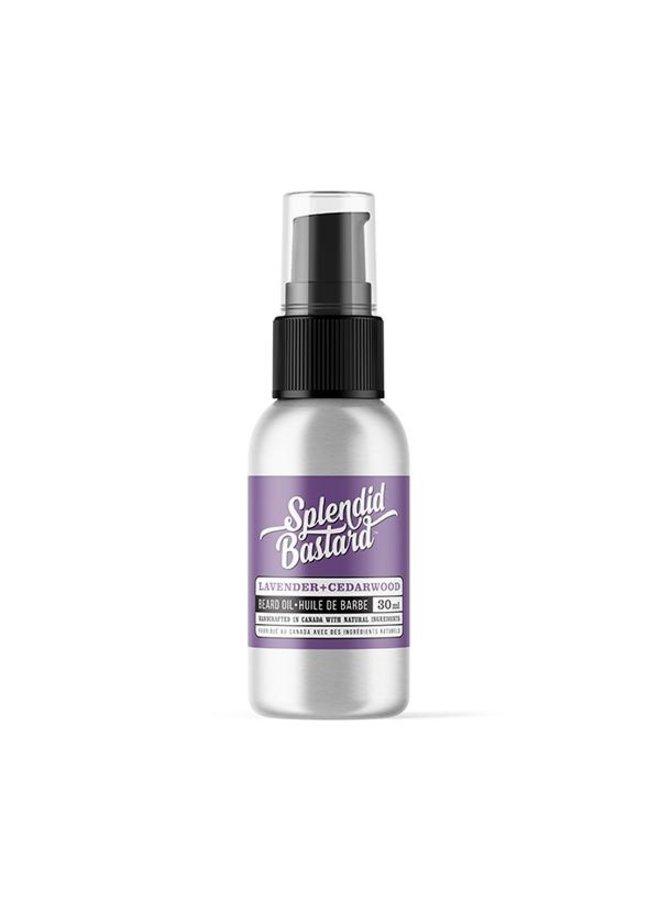 Beard Oil 1oz lavender & Cedarwood