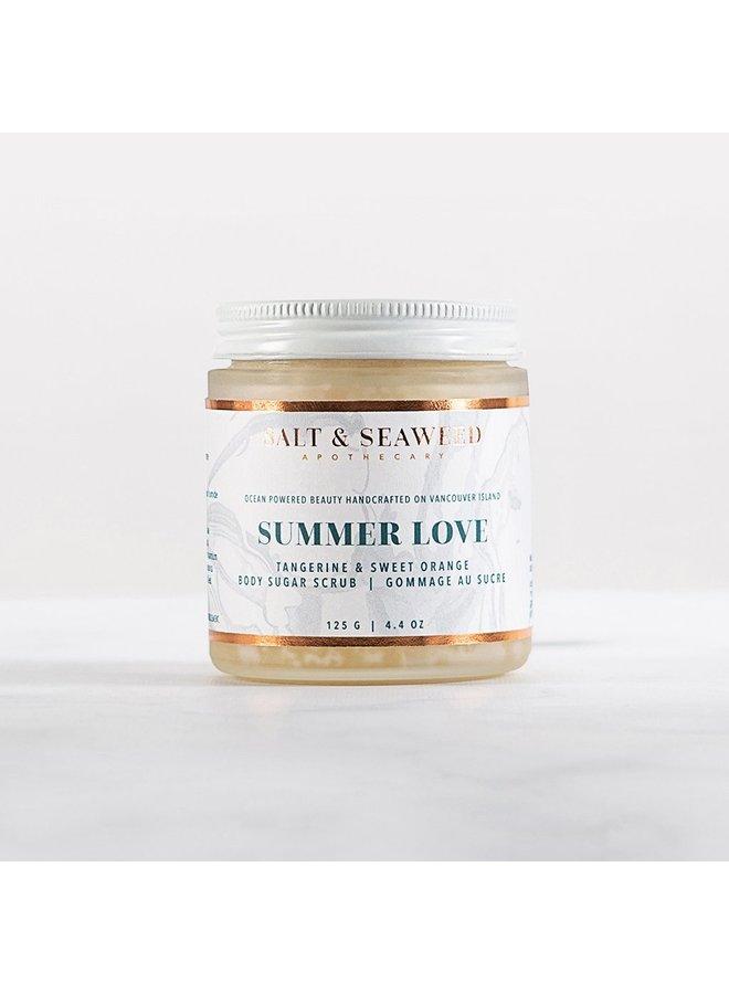 summer love sugar crush body polish