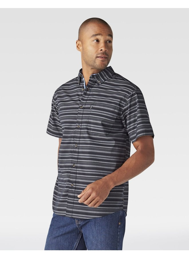 Flex Woven Striped Shirt