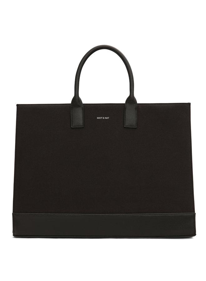 Joi Canvas Tote Bag  Black