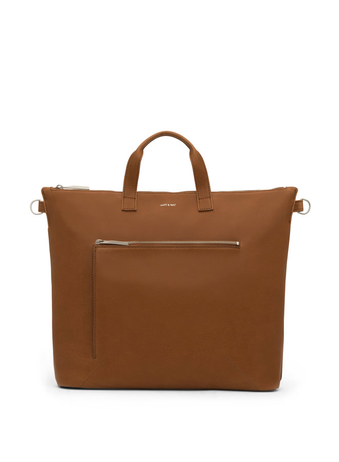 Rony Satchel Bag | Chile Matte Nickel