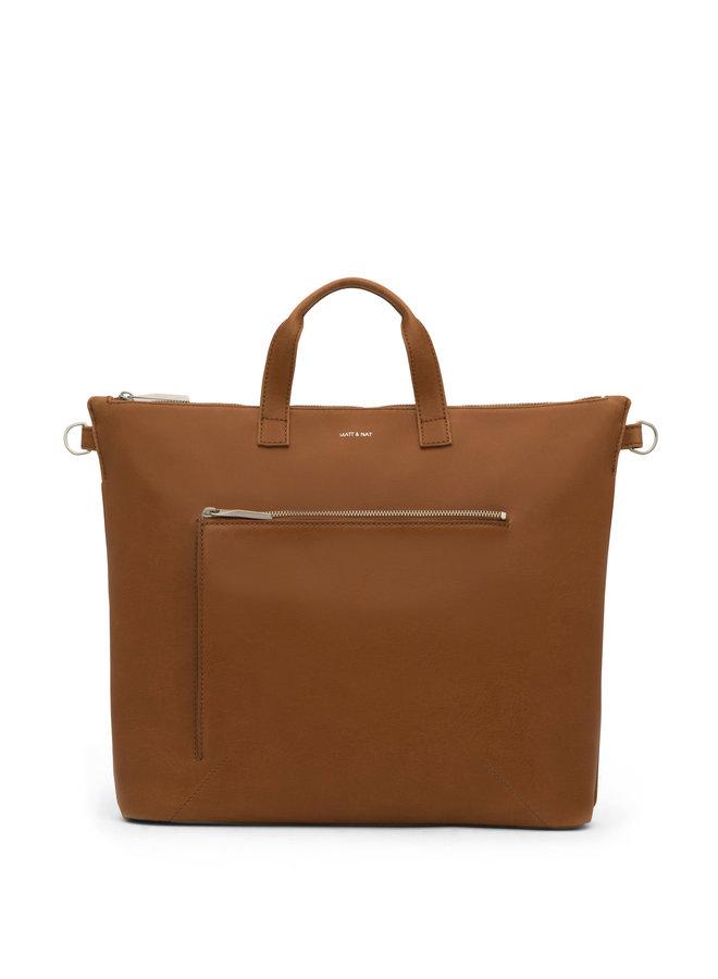 Rony Satchel Bag |Chile Matte Nickel