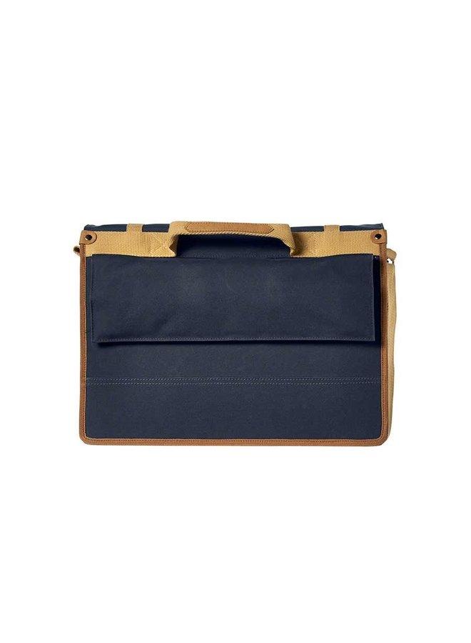 Basil Portland Messenger Bag - Dark Blue