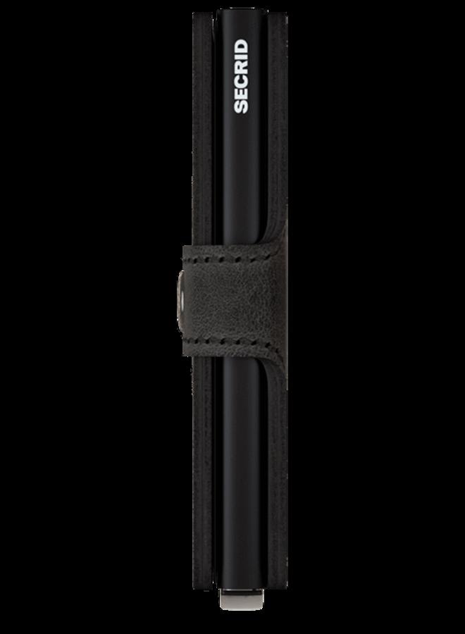Miniwallet Vintage Black