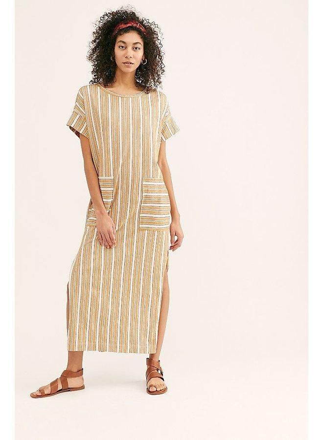 Marguerite T-dress Sand