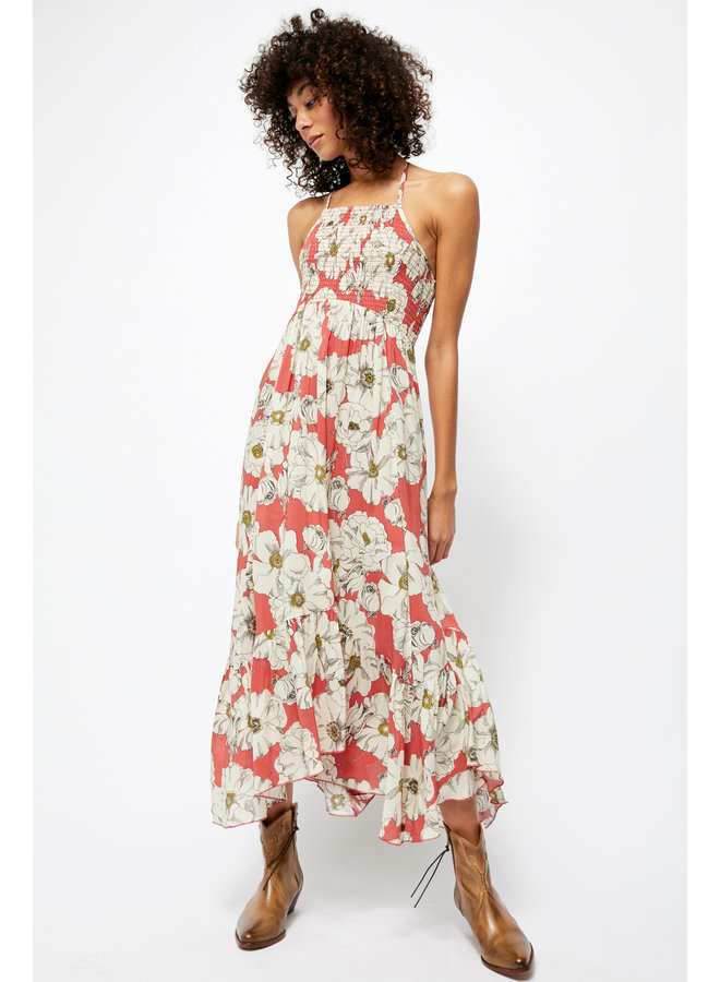 Heatwave printed maxi - sunset