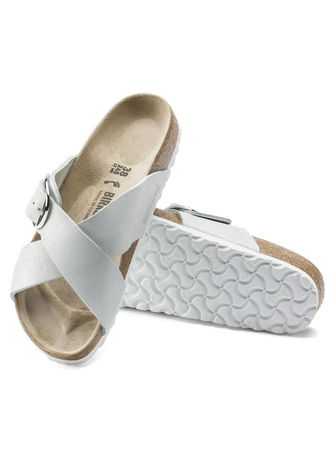 Siena Washed Metallic White
