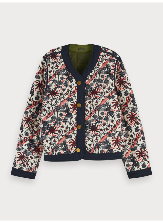 Reversible special quilted Jacket