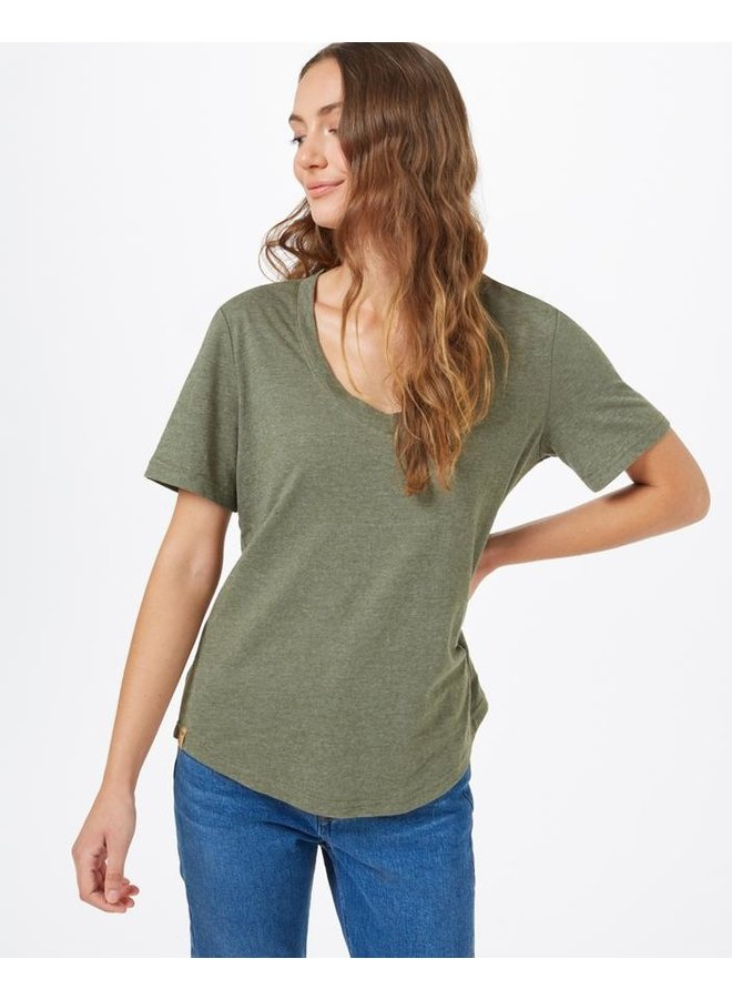 Women's Hemp V-Neck