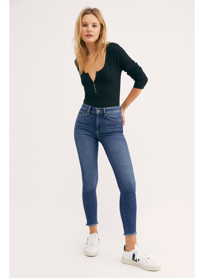 High Rise Jegging - Capri Blue