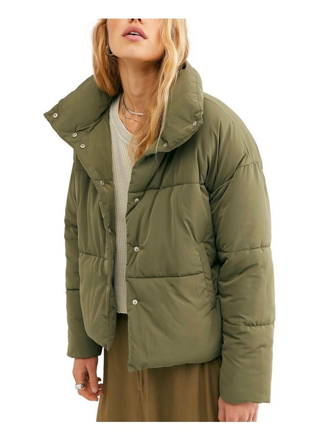 Weekender Puffer Olive Small